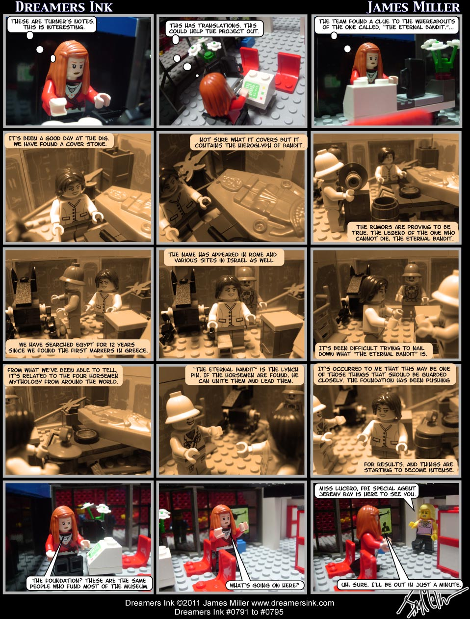 Strips #0791 To #0795
