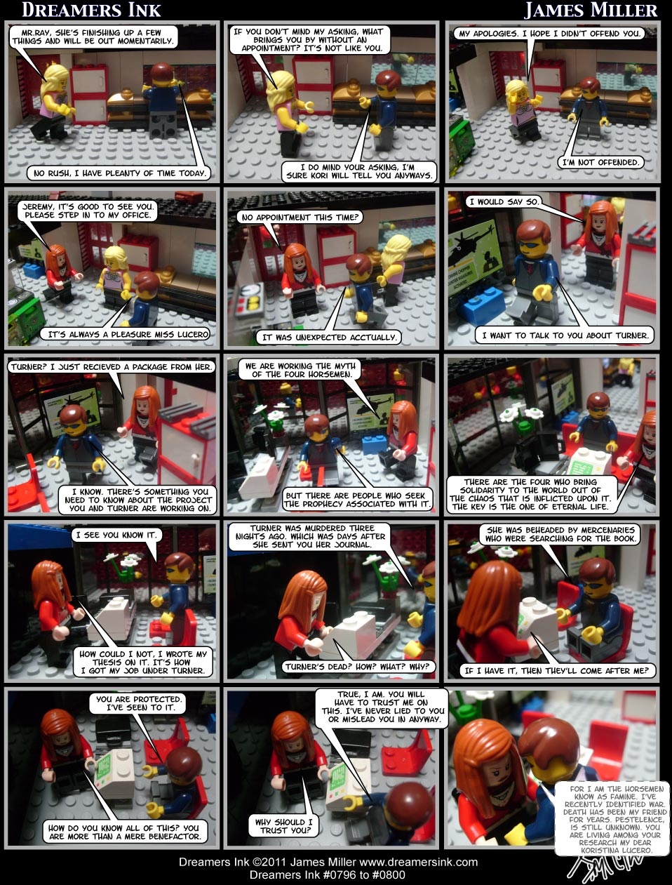 Strips #0796 To #0800