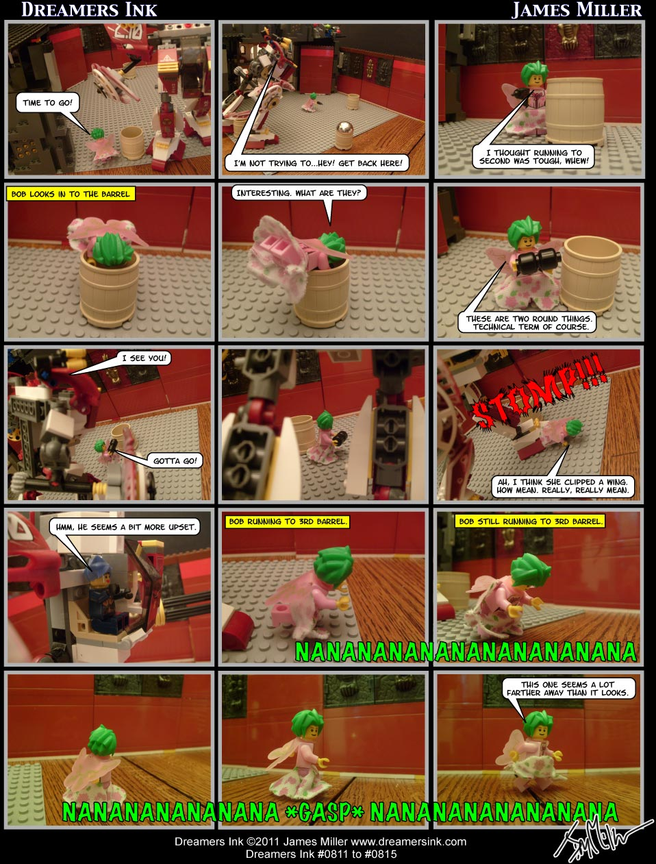 Strips #0811 To #0815