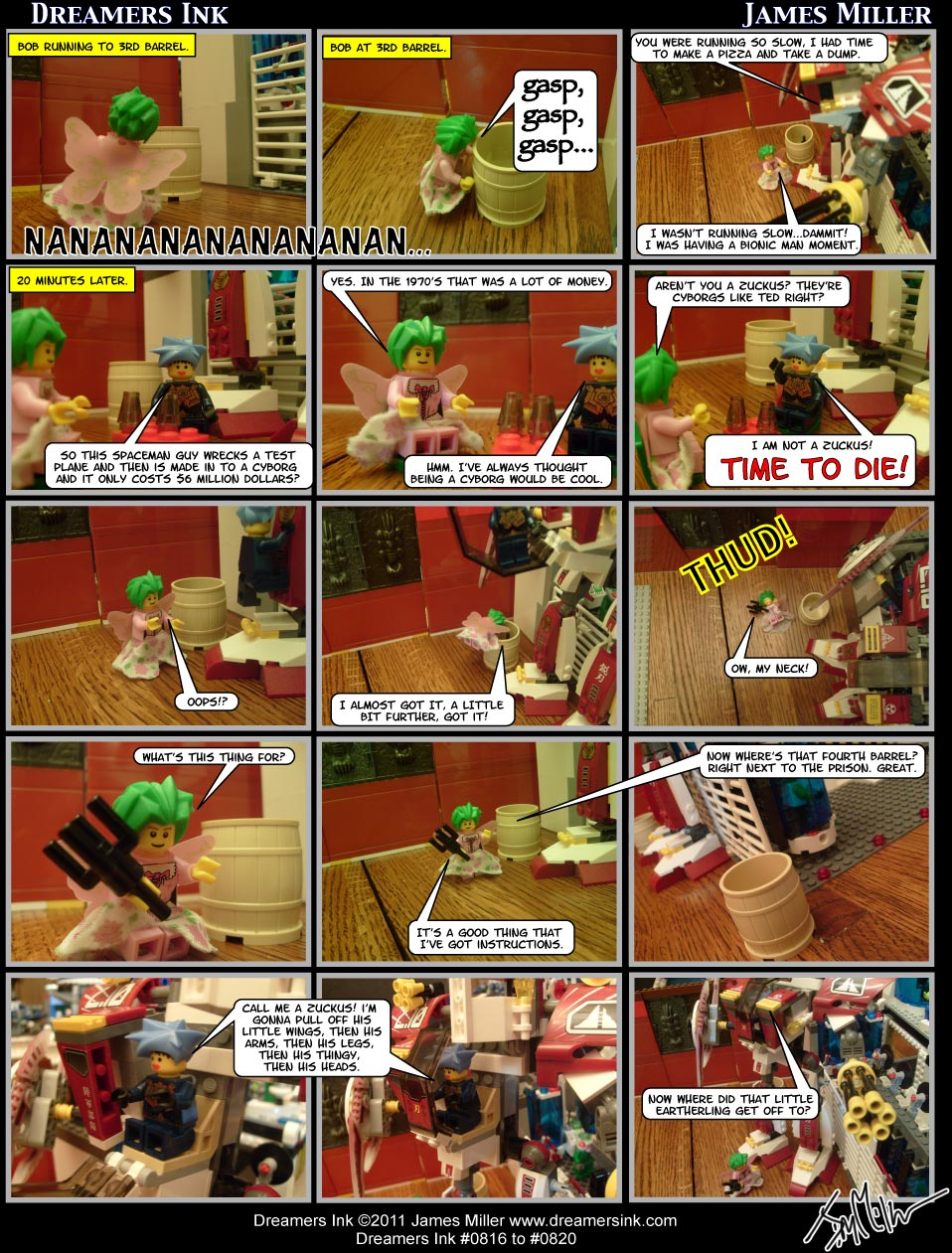 Strips #0816 To #0820