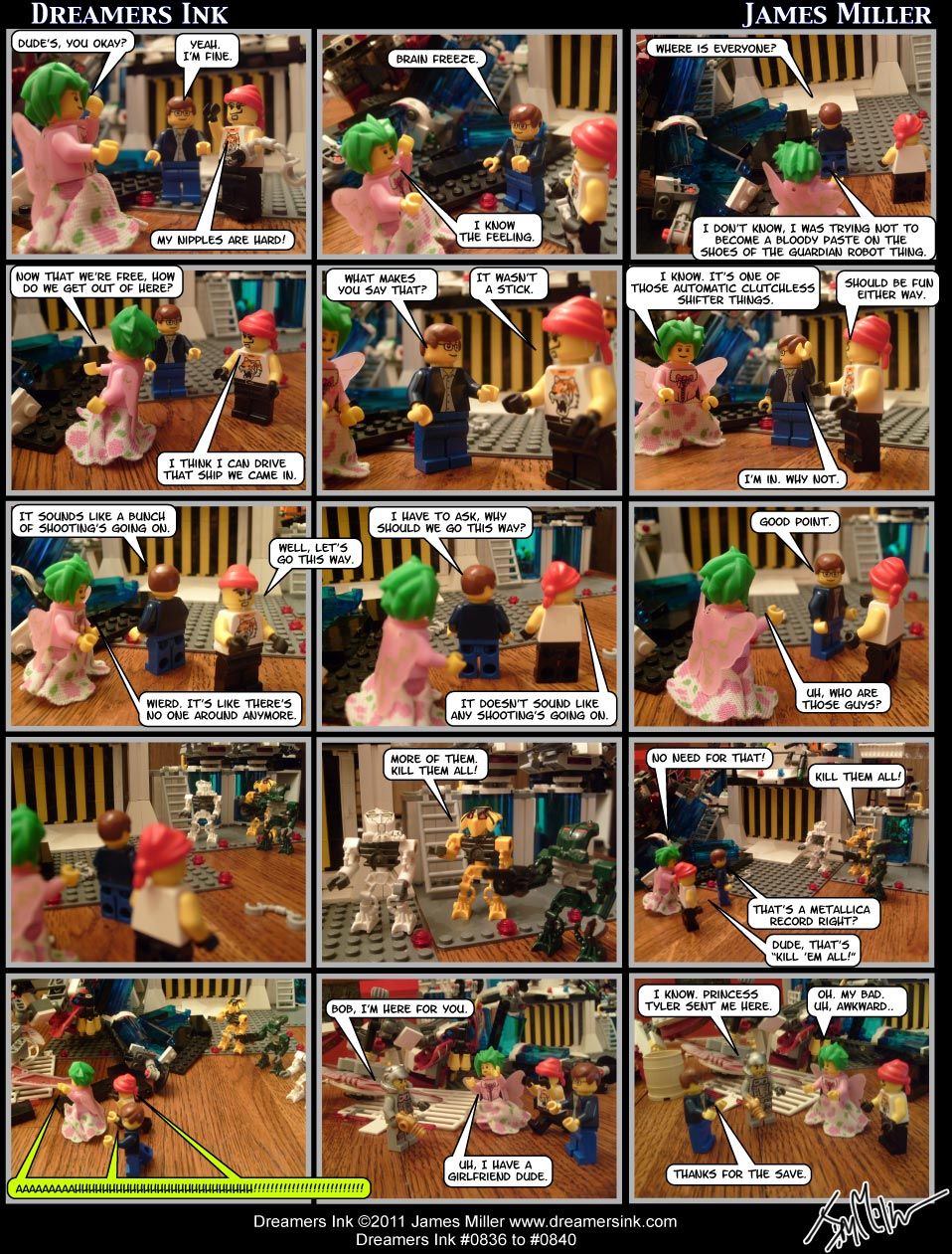 Strips #0836 To #0840