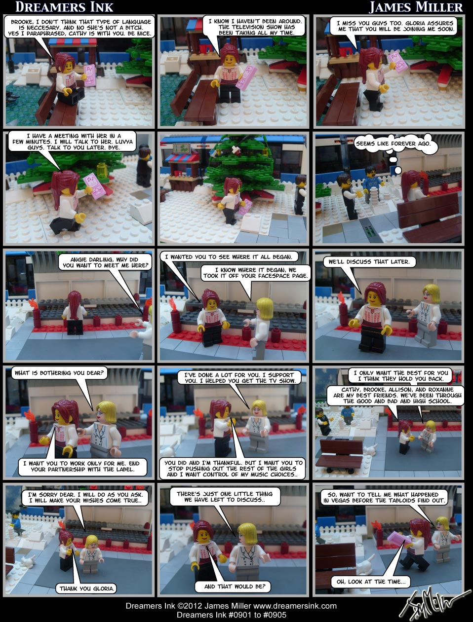 Strip #0901 To 0905