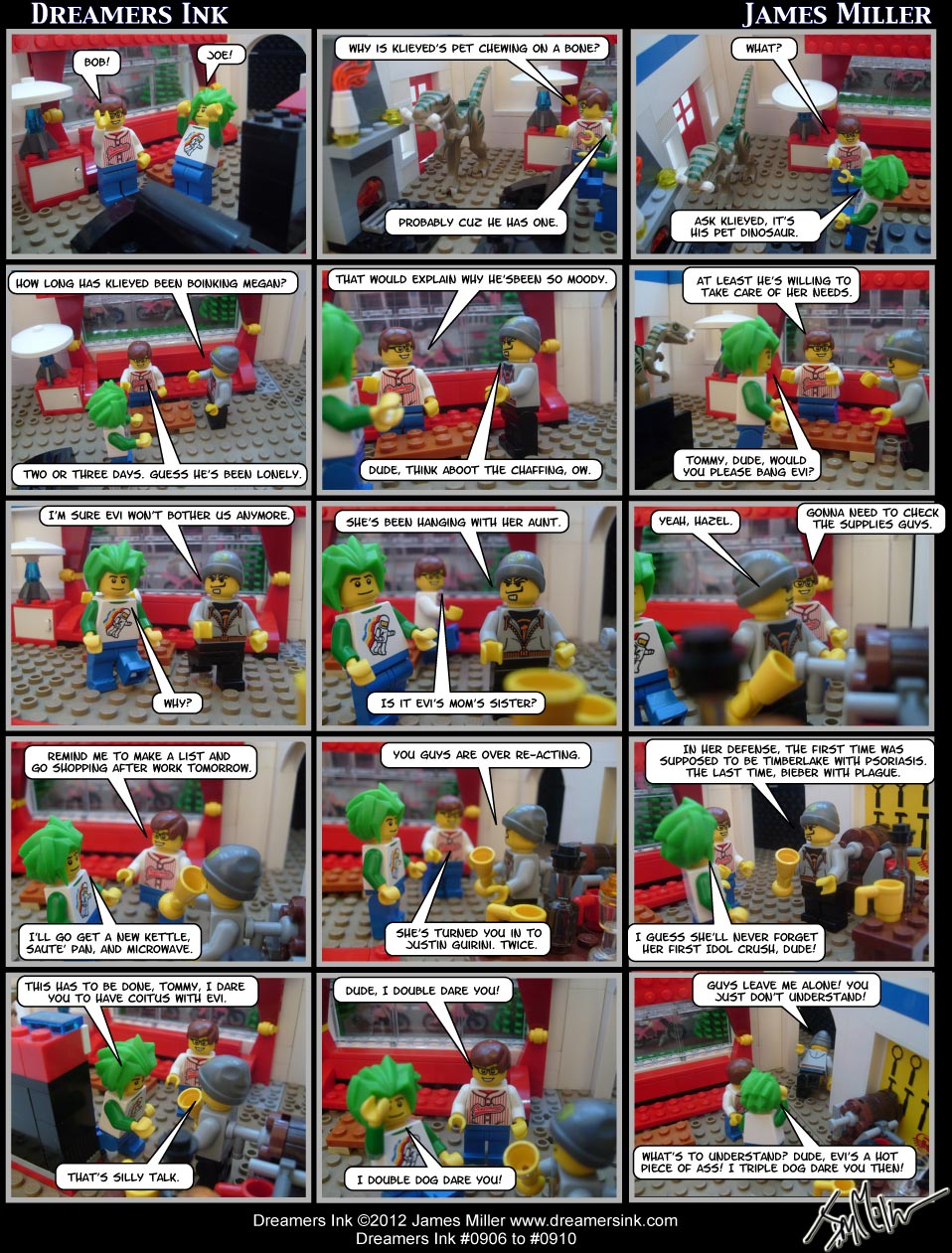 Strip #0906 To 0910