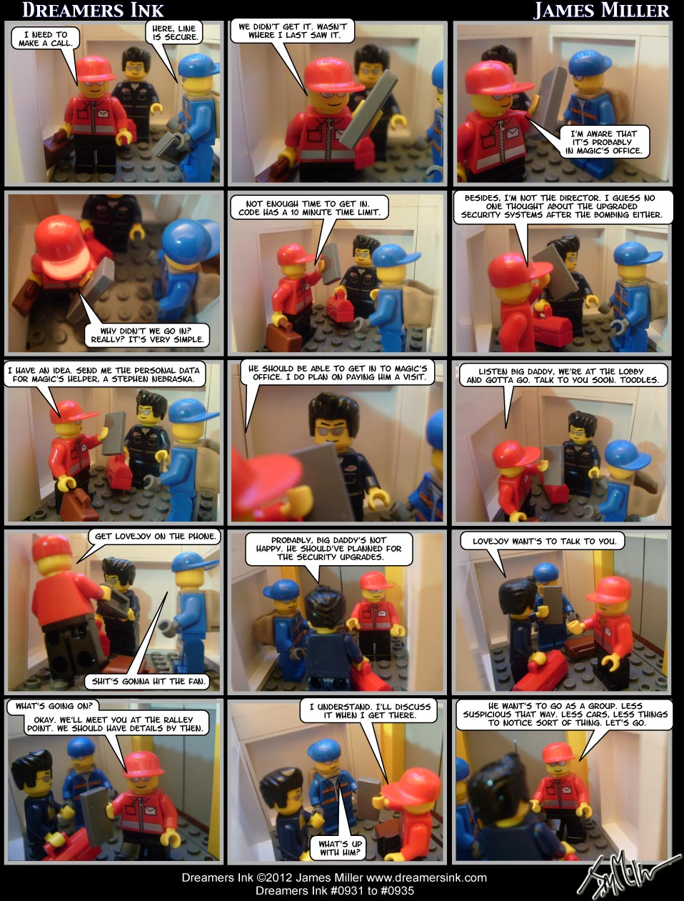 Strip #0931 To #0935