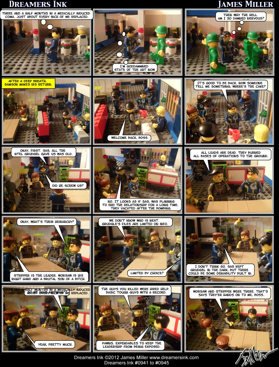 Strip #0941 To #0945