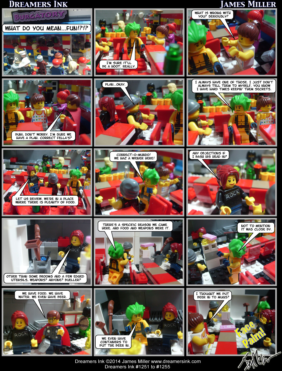Strips #1251 To #1255