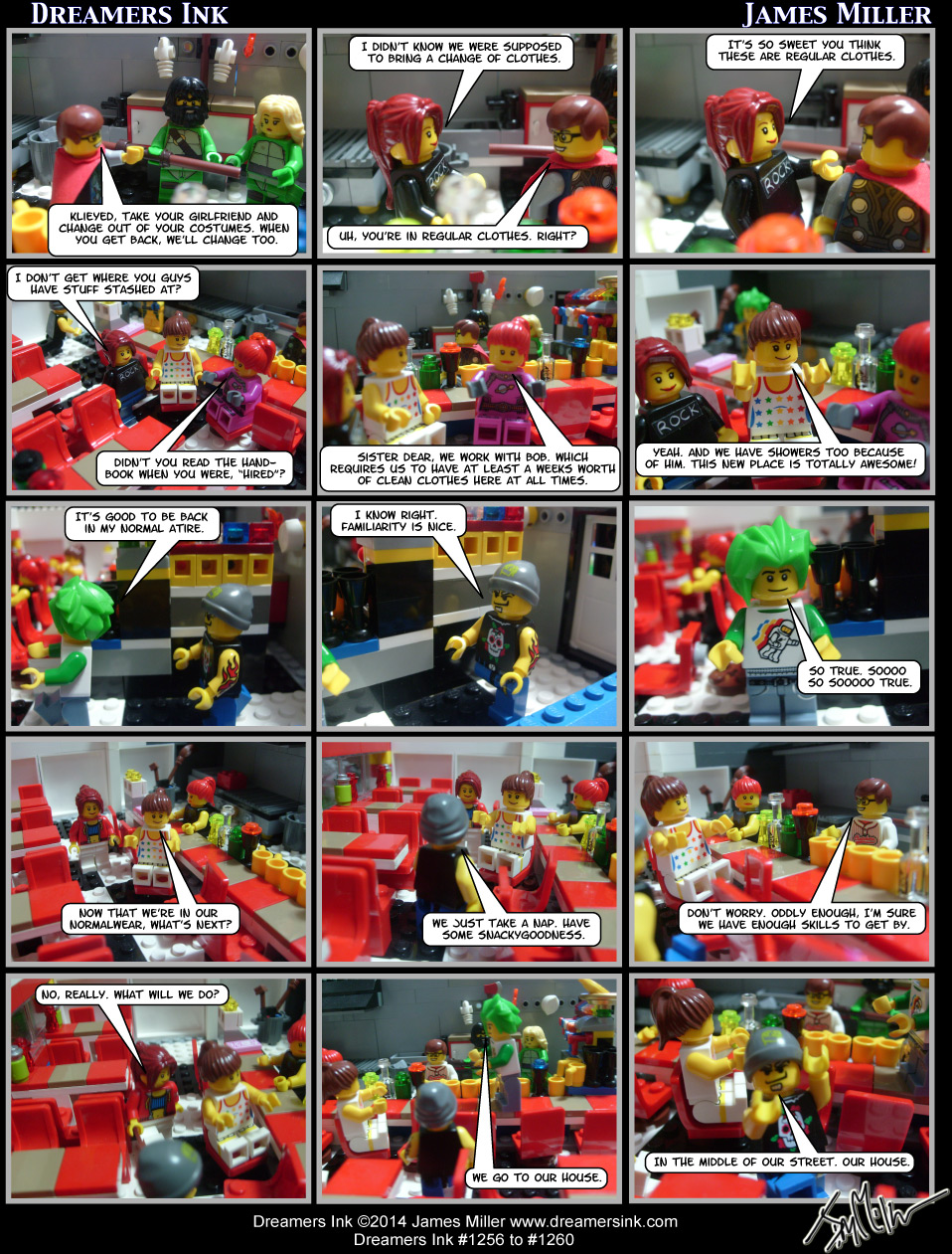 Strips #1256 To #1260