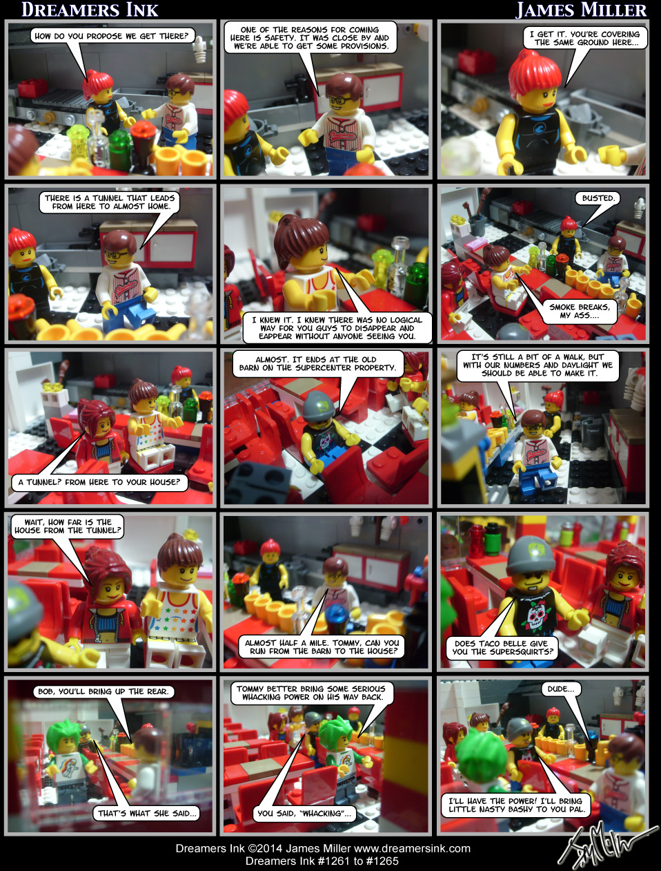 Strips #1261 To #1265