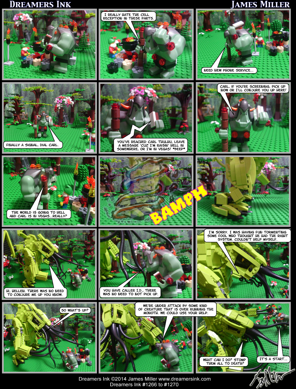Strips #1266 To #1270