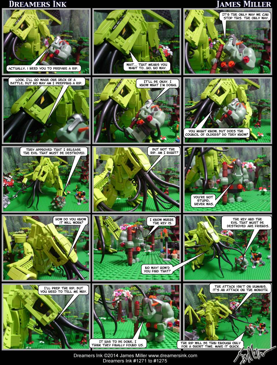 Strips #1271 To #1275