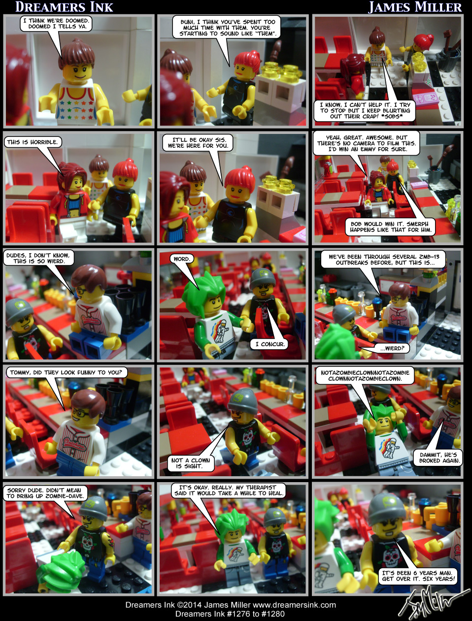 Strips #1276 To #1280
