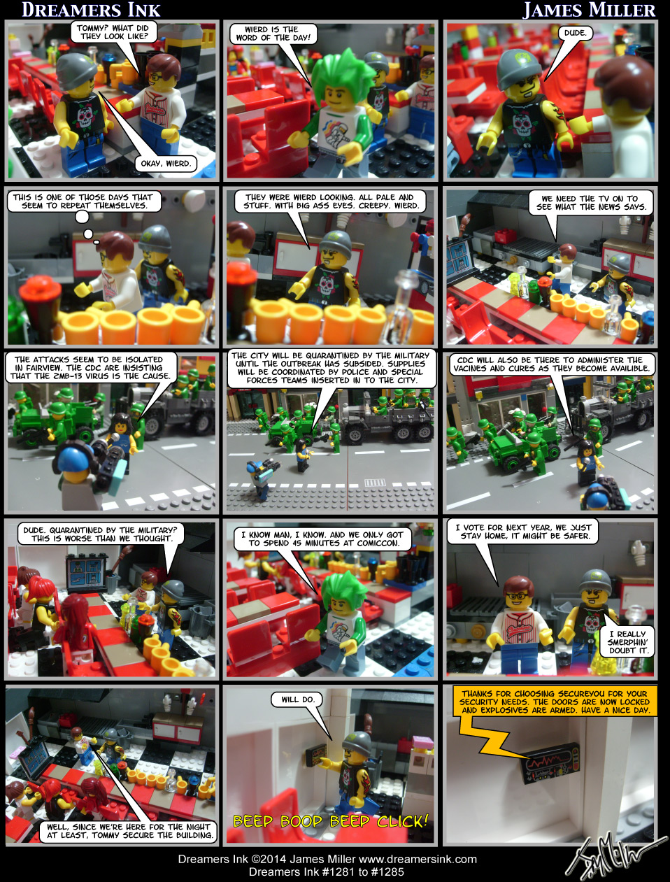 Strips #1281 To #1285