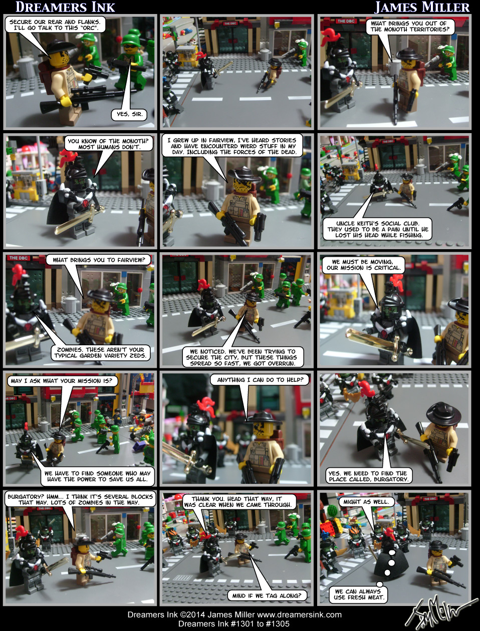 Strip #1301 To #1305