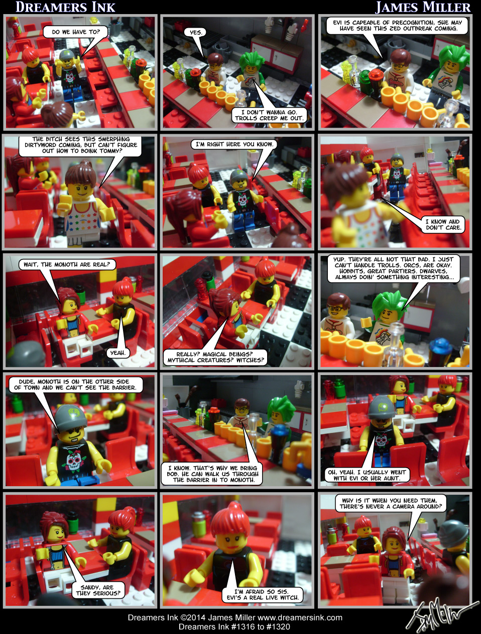 Strips #1316 To #1320