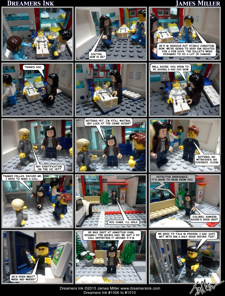 Strips #1506 To #1510