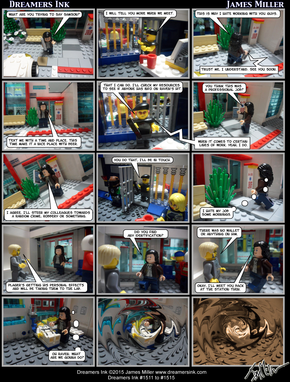 Strips #1511 To #1515