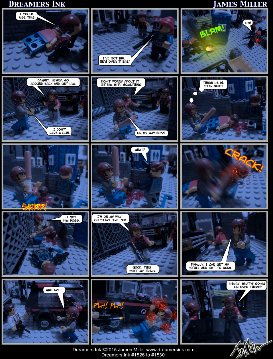 Strips #1526 To #1530