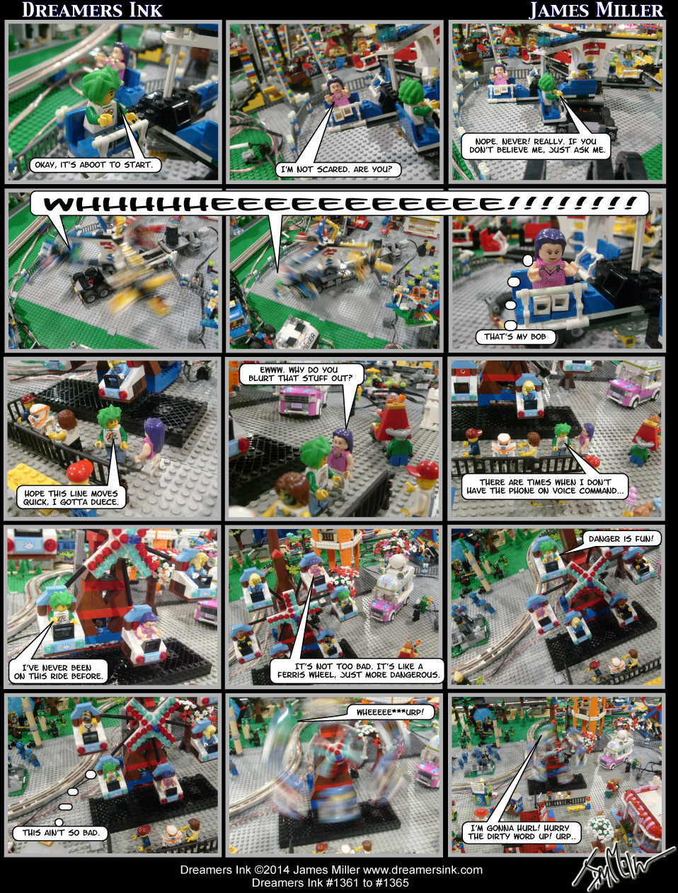 Strips #1361 To #1365