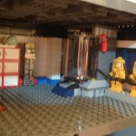The right side of the new medical area. Hazmat suits and misc stuff.