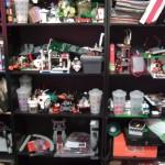 Shelves of doom.